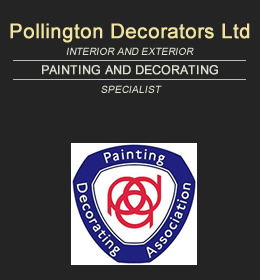 Pollington Decorators Logo and Badge